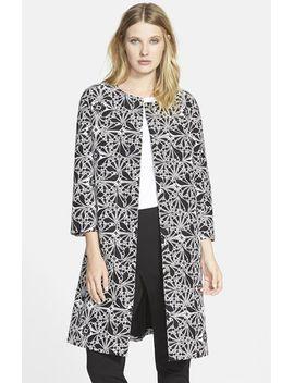 print-cotton-&-silk-blend-topper by classiques-entier®