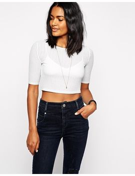 river-island-rib-regular-t-shirt by river-island