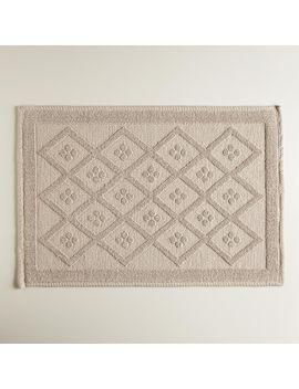 sand-woven-diamond-bath-mat by world-market
