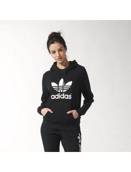 trefoil-logo-hoodie by adidas