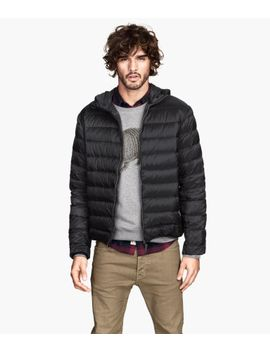 down-jacket-with-hood by h&m