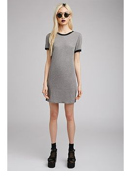 ringer-t-shirt-dress by forever-21