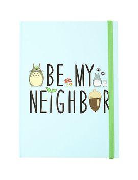 studio-ghibli-my-neighbor-totoro-be-my-neighbor-journal by hot-topic