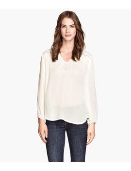 blouse-met-borduursels by h&m