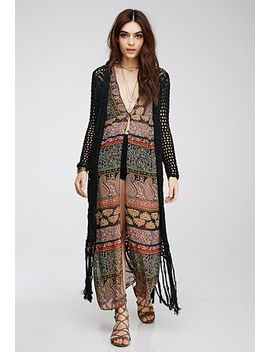 crochet-maxi-cardigan by forever-21