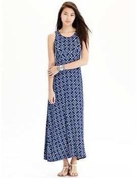 womens-high-neck-maxi-tank-dresses by old-navy