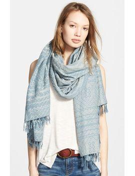 marfa-fringe-trim-scarf by madewell