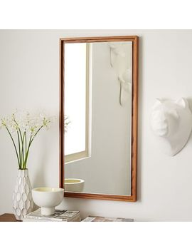 floating-wood-wall-mirror by west-elm