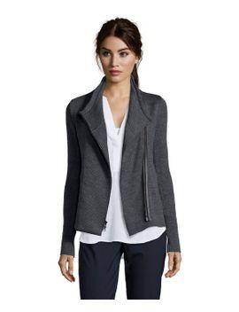 charcoal-wool-knit-asymmetrical-zip-scuba-jacket by vince