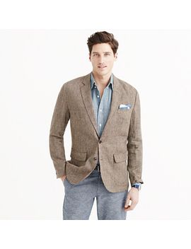 ludlow-sportcoat-in-brown-checked-irish-linen by jcrew