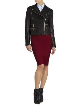 maddy-leather-moto-jacket by bcbgmaxazria