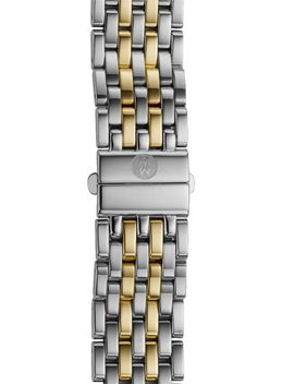 deco-16-16mm-two-tone-bracelet-watchband by michele