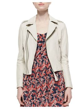 ailey-paper-weight-leather-moto-jacket by joie
