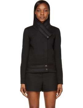 ssense-exclusive-black-active-sponge-fleece-banded-jacket by helmut-lang