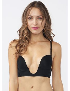 deep-v-plunging-bra by gojane