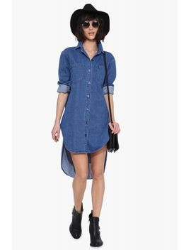 carly-denim-dress by necessary-clothing