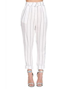 lourdes-stripe-pant by necessary-clothing