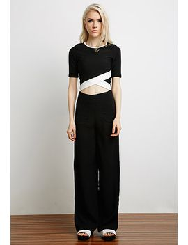 cross-front-cropped-top by forever-21