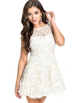white-pretty-lace-princess-skater-dress by oasap