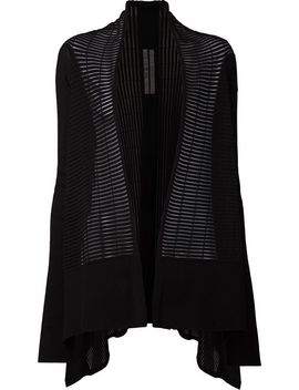 ribbed-knit-cardigan by rick-owens