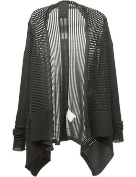 cut-out-ribbed-cardigan by rick-owens