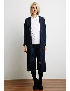 longline-denim-jacket by forever-21