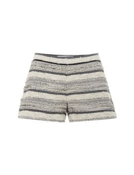 bouclé-shorts by thakoon-addition