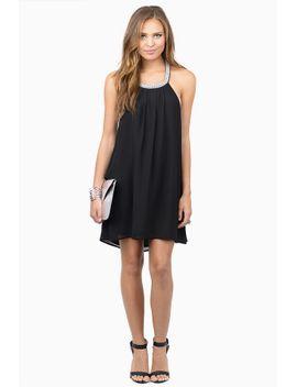 serenity-black-shift-dress by tobi