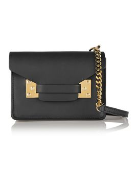 envelope-mini-leather-shoulder-bag by sophie-hulme