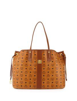 liz-reversible-medium-visetos-tote-bag by mcm