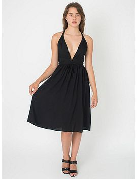 empire-waist-cross-back-dress by american-apparel