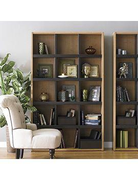 boraam-90580-techny-collection-scully-hollow-core-bookcase,-cream_maple by boraam