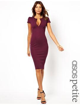 asos-petite-sexy-midi-pencil-dress by asos-petite