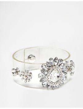 love-rocks-rhinestone-clear-cuff-bracelet by love-rocks