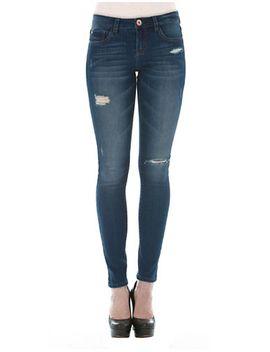 skinny-five-pocket-jeans by kensie-jeans