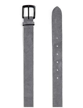 grey-suede-belt by topman