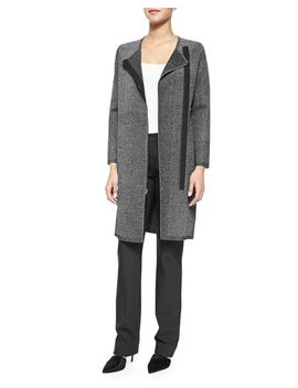 lioralee-long-tweedy-coat-&-izelle-straight-leg-pants by theory