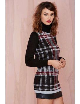 nasty-gal-plaid-student-turtleneck-sweater-dress by nasty-gal