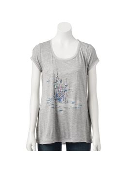 disneys-cinderella-a-collection-by-lc-lauren-conrad-foil-graphic-tee---womens by kohls