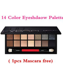 14-color-brand-makeup-eyeshadow-palette-shimmer-&-matte-eyes-shadows-cosmetic-brighten-eye-shadow-professional-make-up-tools by ali-express
