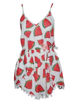 2014-free-shipping-fashion-watermelon-pattern-dot-loose-change-sides--playsuit--jumpsuit--tb-6163 by ali-express