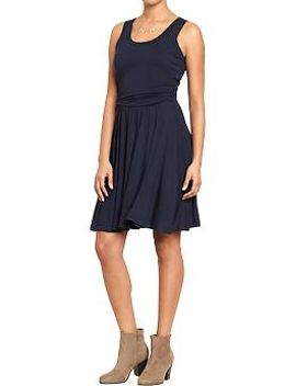 womens-sleeveless-jersey-dresses by old-navy