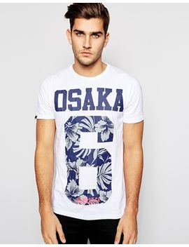 superdry-t-shirt-with-floral-osaka-print by superdry