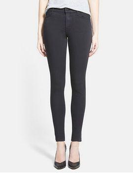 the-charmer-mid-rise-denim-leggings by mother