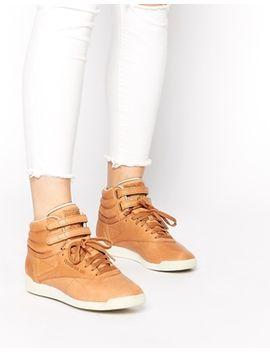 reebok-freestyle-horween-high-top-sneakers by reebok
