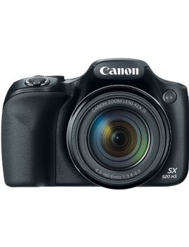 canon-powershot-sx520-16digital-camera-with-42x-optical-image-stabilized-zoom-with-3-inch-lcd-(black) by canon