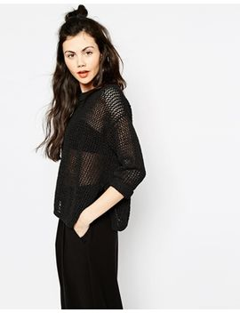 monki-festval-knitted-top by monki