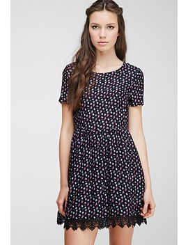 ditsy-floral-print-babydoll-dress by forever-21