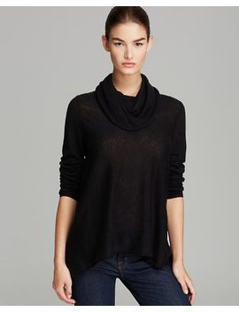 draped-cowl-wool-cashmere-sweater by alice-and-olivia