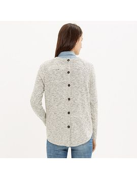marled-button-back-sweater by madewell